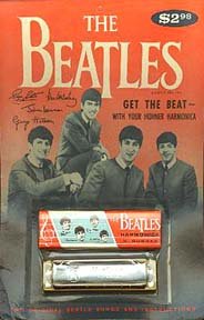 The Beatles Harmonica